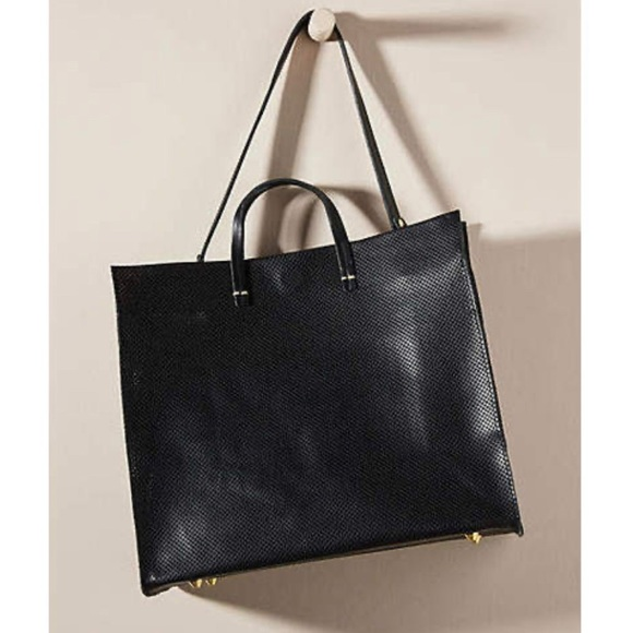 Clare Vivier Handbags - Clare V. Black Leather Simple Tote